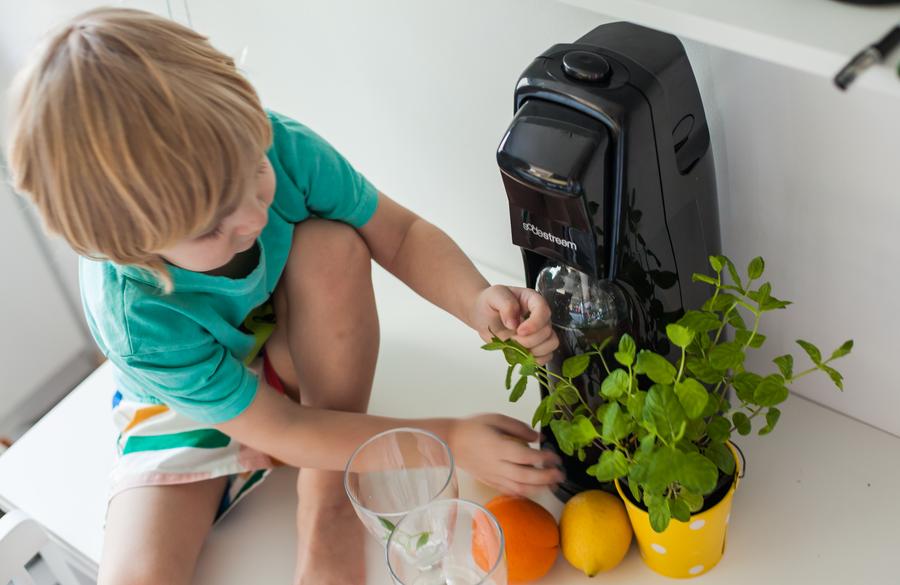 Soda-Stream blog parentingowy www.olomanolo.pl