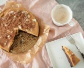 Przepis na czekoladowe ciasto z marchewki z kremem jaglano-orzechowym