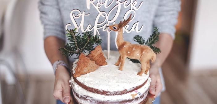 Tort urodzinowy, który jest prosty jak budowa cepa! Zróbisz go sama