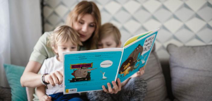 Jakie książki dla dzieci polecam, czyli co obecnie czytam swoim dzieciom cz. 1