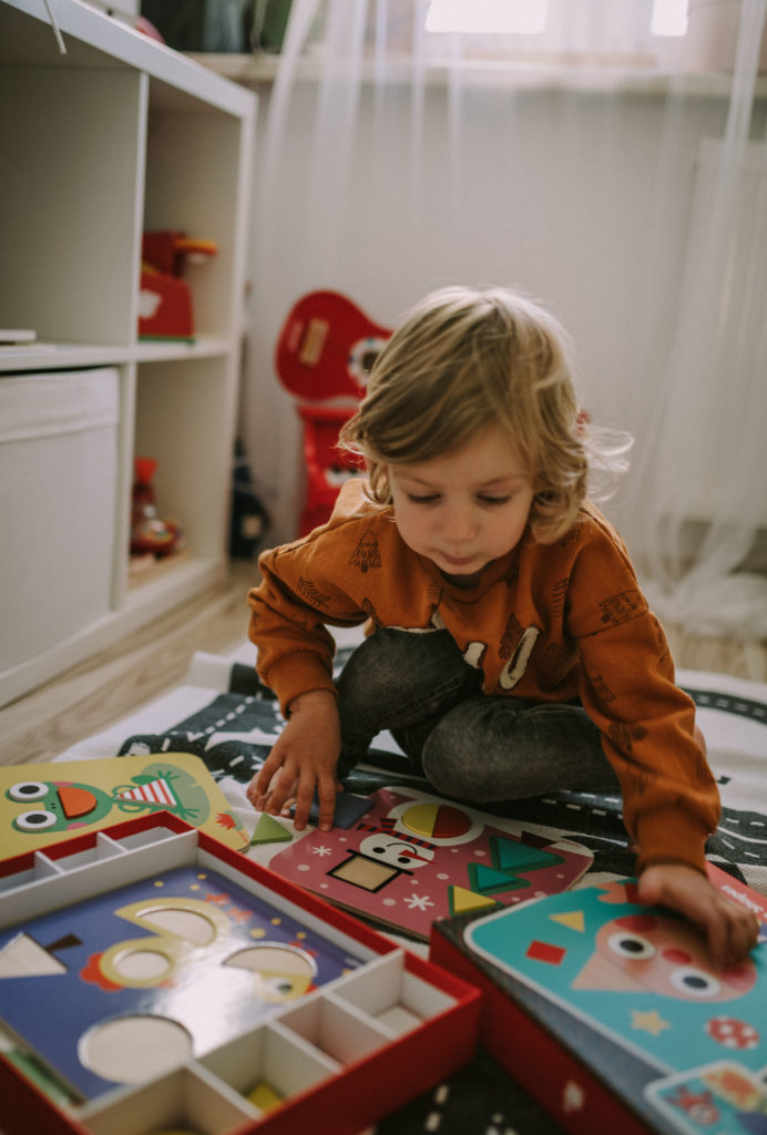 Jesienne zabawki