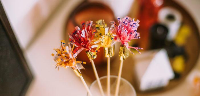 6 pomysłów na dekoracje sylwestrowe ZERO WASTE